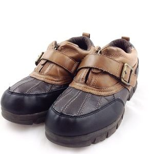 Graphite Vegan Leather Duck Shoes -N1048